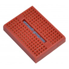 Mini Breadboard 170 points Red Color