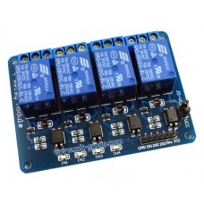 4 Channel 5V Relay Module (Optocoupler)