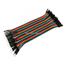 Male to Female Jumper Wire 20cm 40pcs for Raspberry Pi