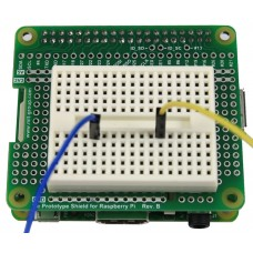 Tie Prototype Shield Rev.B & Breadboard for Raspberry Pi B+ / A+ / Pi 2