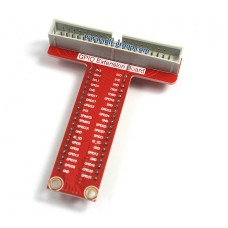 GPIO Extension Board (Red) for Raspberry Pi B+ / A+ / Pi 2 (40pin)
