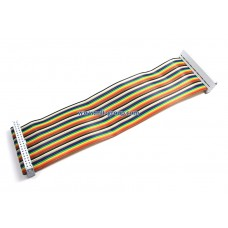 GPIO Ribbon Cable for Raspberry Pi B+ / A+ / Pi 2 (40pin) - Rainbow Color