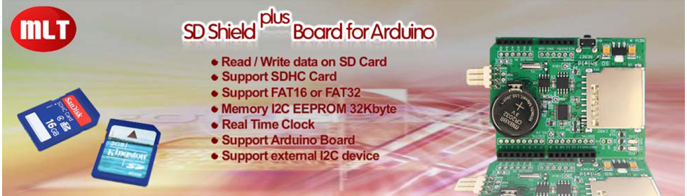 SD Card Shield Plus for Arduino