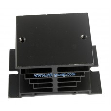 Aluminum Heat Sink for Solid State Relay SSR (Black)
