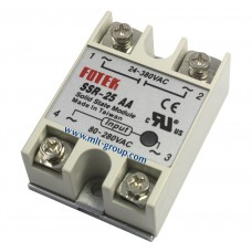 Solid State Relay 25A SSR-25 AA (AC to AC)