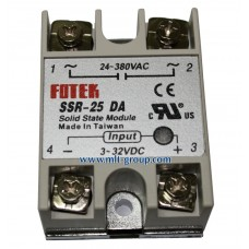 Solid State Relay 25A SSR-25 DA (DC to AC)