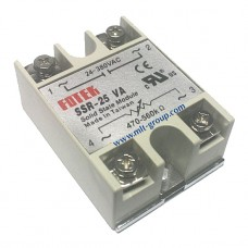 Solid State Relay 25A SSR-25 VA (Resistance to AC)