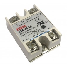Solid State Relay 40A SSR-40 AA (AC to AC)