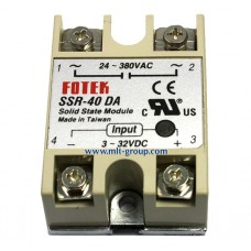 Solid State Relay 40A SSR-40 DA (DC to AC)