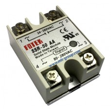 Solid State Relay 50A SSR-50 AA (AC to AC)