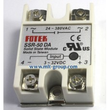 Solid State Relay 50A SSR-50 DA (DC to AC)