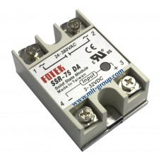 Solid State Relay 75A SSR-75 DA (DC to AC)